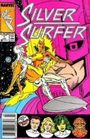 Silver Surfer Comics (1987 Series)